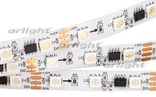 Лента SPI-5000-AM 12V RGB (5060, 300 LED x3,1804)